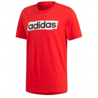 Adidas Essential Linear Brush Tee