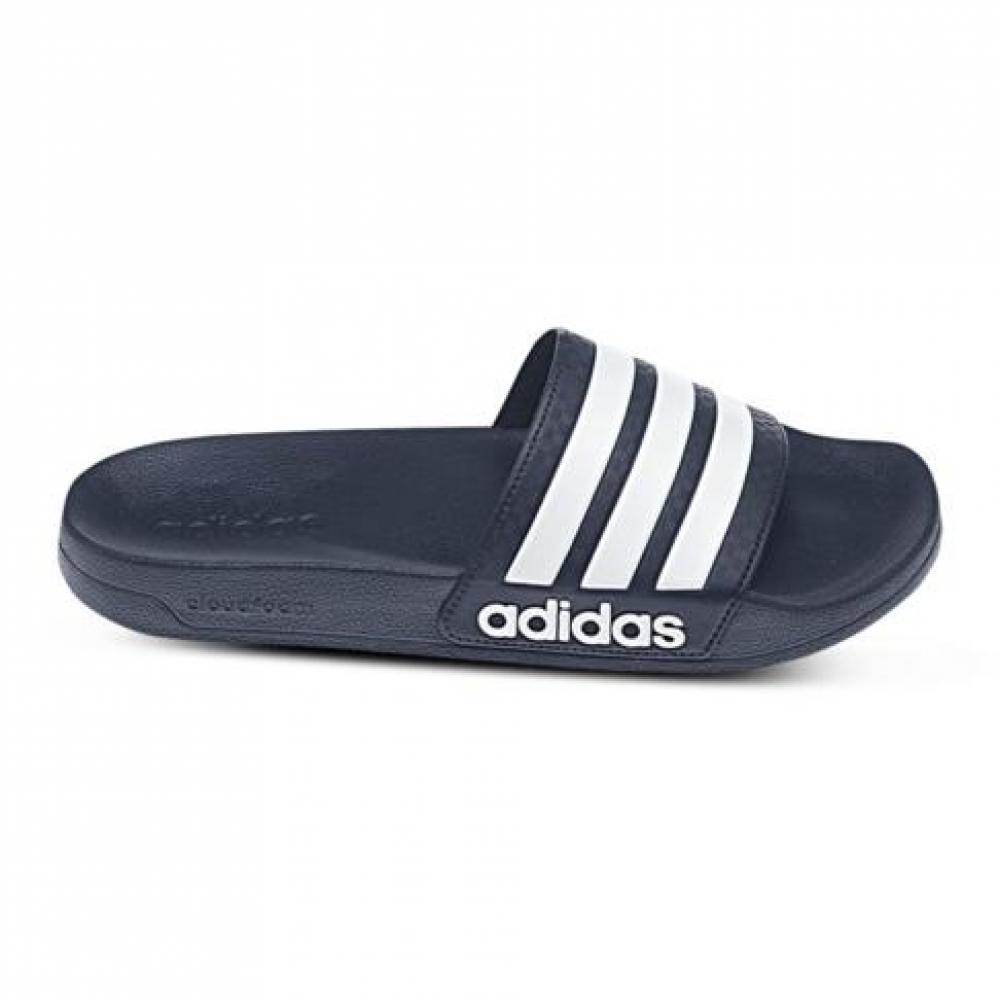 discount price classcic fantastic savings Adidas Adilette Slides - Navy/White