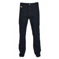 Jeep 5 Pocket Regular Stretch Denim - Blue/Black